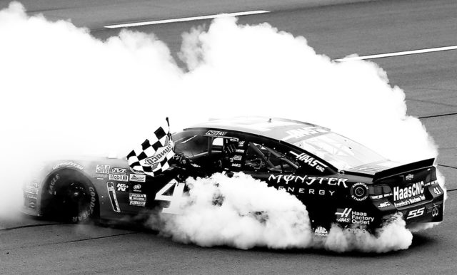 Taking the victory lap and smokin' it