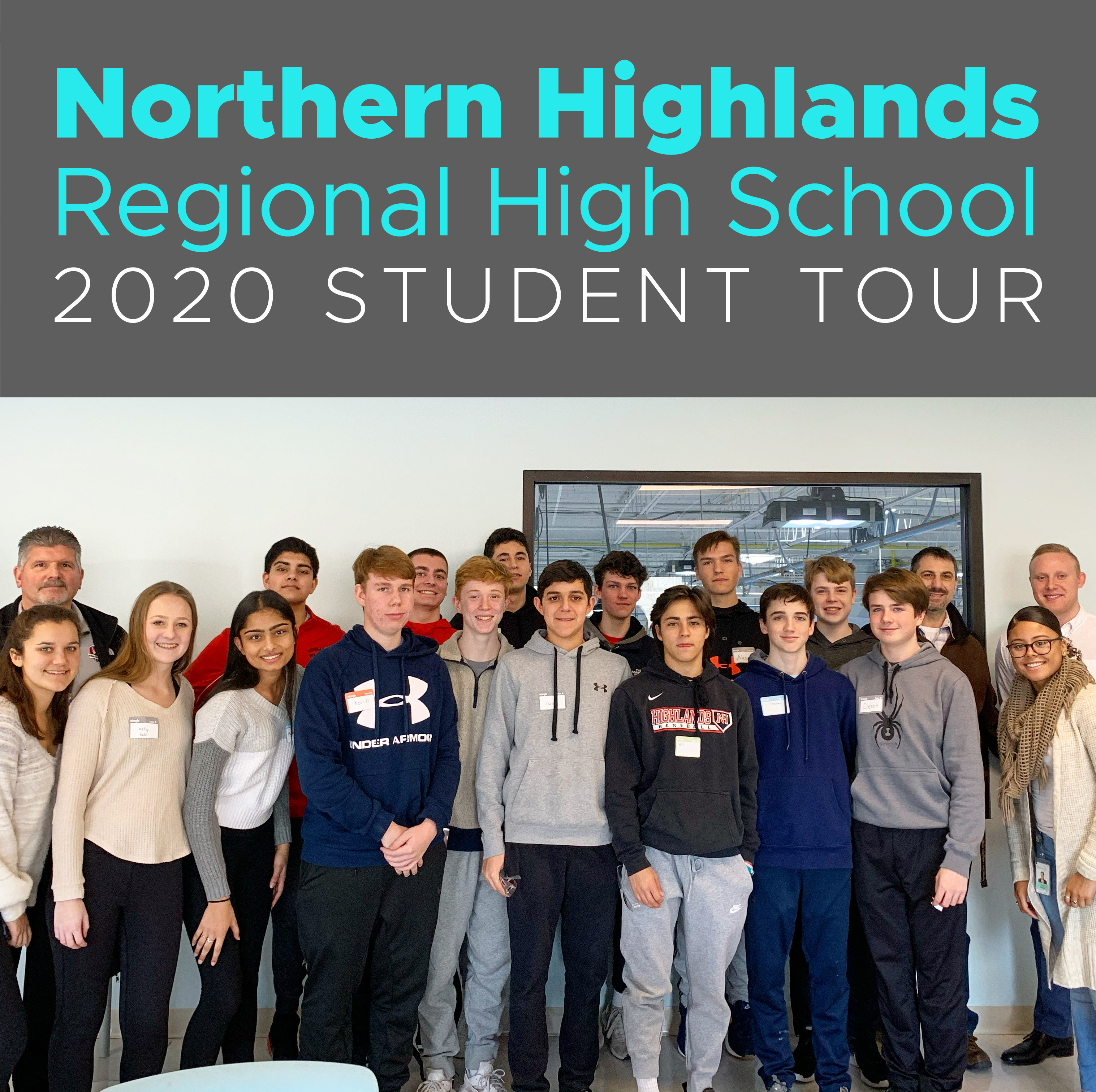 Northern Highlands STEM Students Tour Triangle