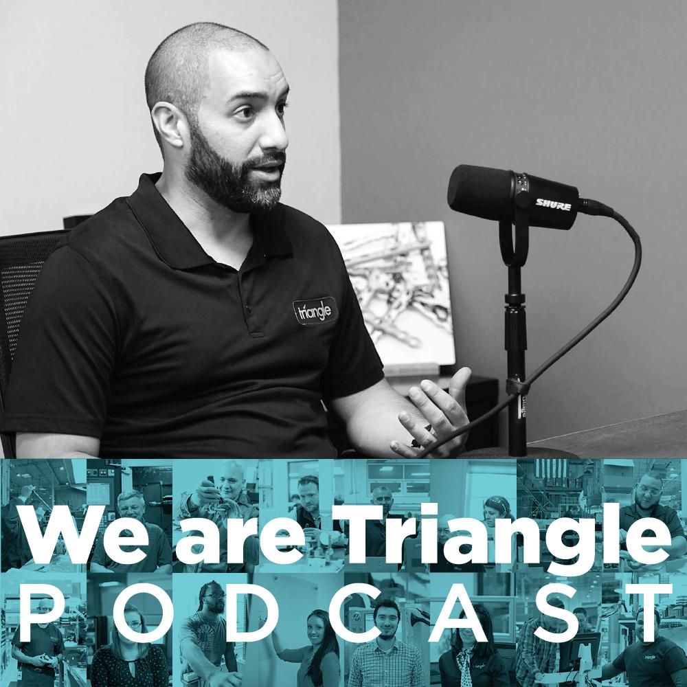 We Are Triangle 004: Jervis Diaz / CNC Technical Coordinator & Wire EDM Specialist