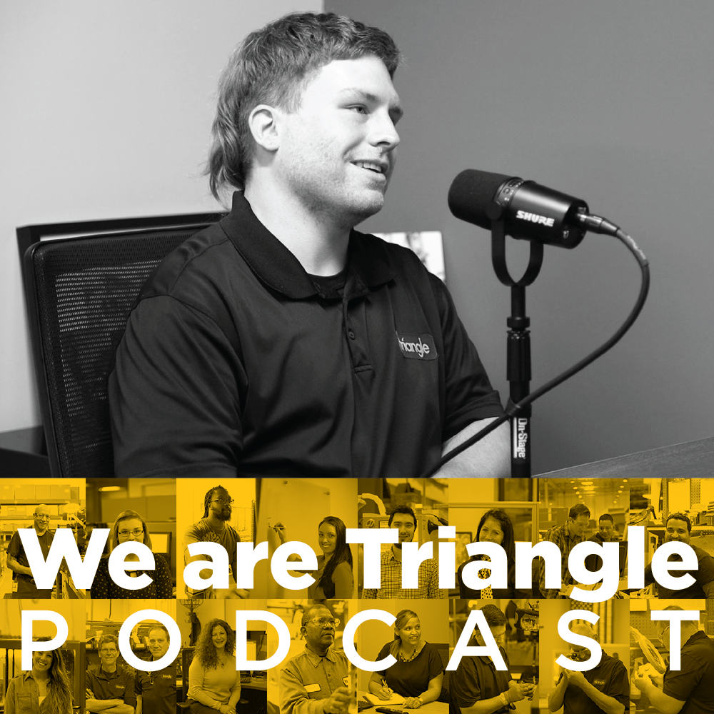 We Are Triangle Podcast 003: Kevin Wagner / CNC Operator