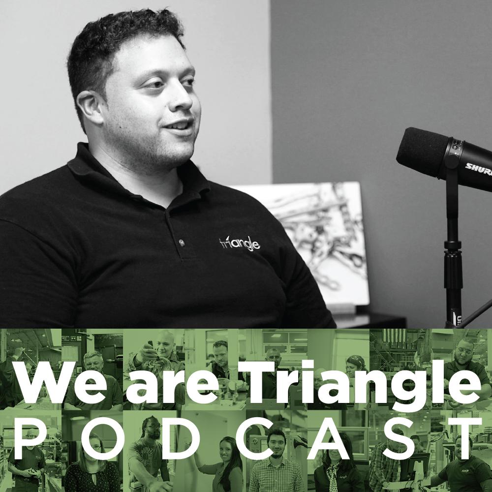 We Are Triangle 005: Carlos Garzon / CNC Setup Operator
